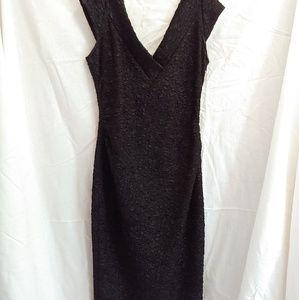 Vintage Maggie London Wiggle Dress, Black